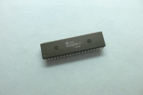 Hitachi HD63B03R1P 63B03RP 63B03 CMOS 8BIT MPU DIP40 x 1pc