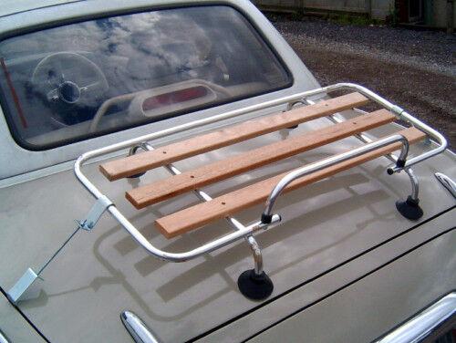 listones de madera clásica de Aluminio Arranque Portaequipajes Para Nissan Figaro /& Kit De Montaje