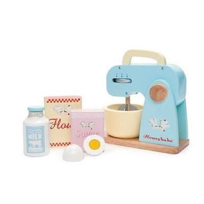 NEW Le Toy Van Honeybake Wooden Kitchen Mixer Set - Childrens Cooking Set