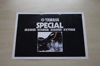 Parts & Accessories Gentle 165274 Yamaha Xs 250 400 650 750 Se Prospekt 01/1981
