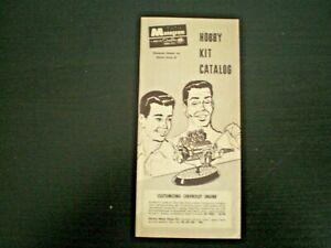 Monogram-Original-Mini-Hobby-kit-Catalog-sheet-from-1961
