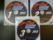 WWE: The Best of Raw and Smackdown 2013 (DVD*3-Discs) *DISCS ONLY* FAST SHIPPING