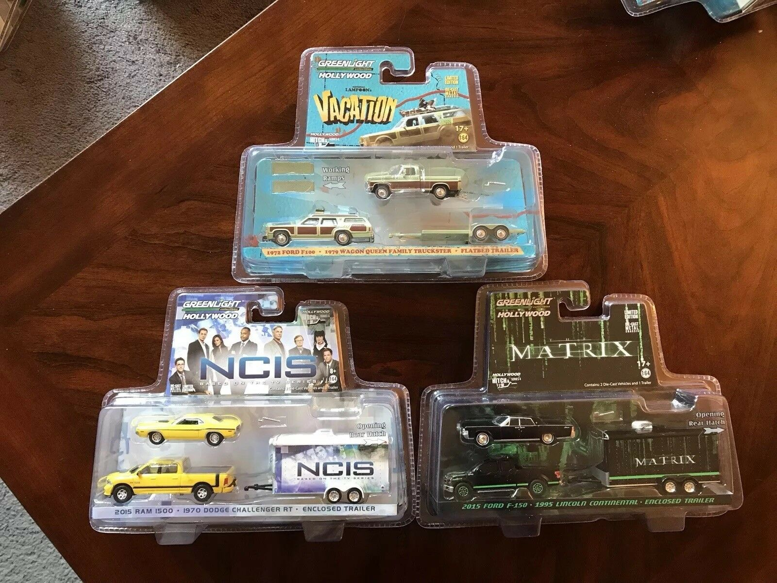 verdelight Hollywood Hitch & Tow Series 4 COMPLETE SET of 3 FREE SHIPPING
