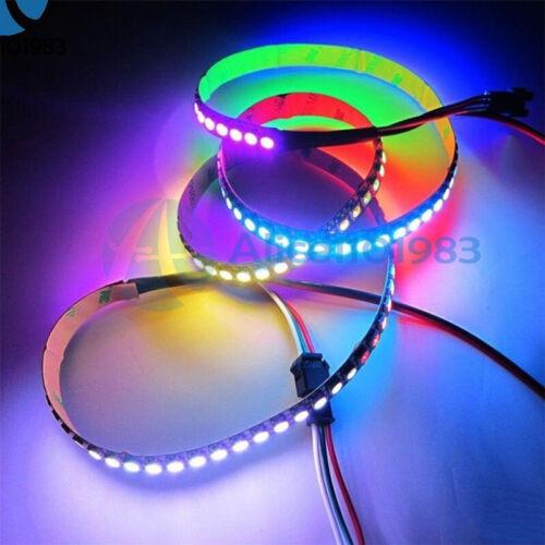 5V WS2812B 5050 RGB LED 60 Leds Strip 60LED Individual Addressable White PCB 1M
