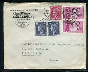 Luxembourg - Enveloppe à Entête De L 'office De Brevets D 'invention En 1953 MatéRiau SéLectionné