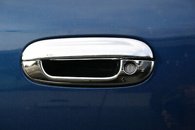 Sizver Chrome Door Handle Covers For 2006-2010 Cadillac DTS