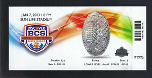 2013-BCS-NATIONAL-CHAMPIONSHIP-BOWL-GAME-FULL-UNUSED-TICKET-NOTRE-DAME-v-ALABAMA