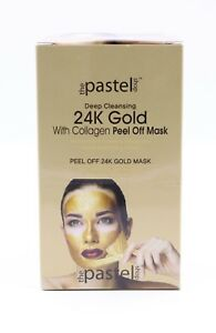 24K-Gold-with-Collagen-Peel-Off-Mask-Misturizing-amp-Firming-0-35oz-3pcs