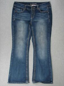 SD07423-MAURICES-BOOT-CUT-WOMENS-JEANS-sz18S-NICE-JEANS
