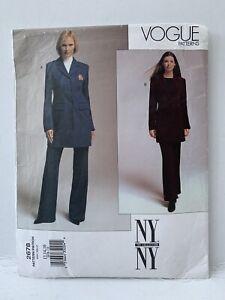 Vogue-Vintage-1990s-N-Y-Collection-Uncut-Sewing-Pattern-Trouser-Suit-2678-12-16