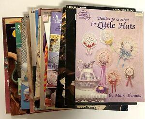 Vintage Thread Crochet /& Filet Books and Leaflets ~ U PICK ~ SHIPS FREE