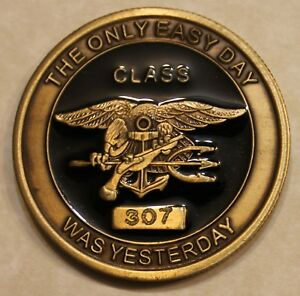 Details about Naval Special Warfare Center SEAL BUDS Class #307 Navy  Challenge Coin / Forces
