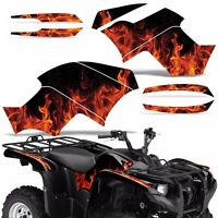 Graphic Kit Yamaha Grizzly 550/700 Atv Quad Decal Sticker Wrap 2007-2014 Ice Org