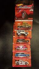 6 HOT WHEELS HERITAGE REDLINE SET OF 6 CASE F LONG HAUL 13-18 OF 18 SAVE 5%