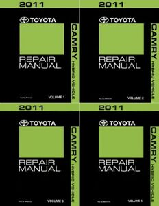 Image Is Loading 2017 Toyota Camry Hybrid Service Repair Manual