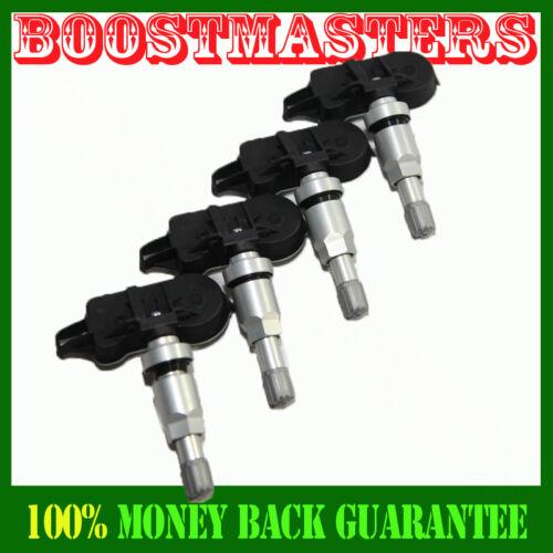 For GMC Honda Ford Chrysler Chevy Cadillac 1Set 4PCS Tire Pressure Sensor TPMS
