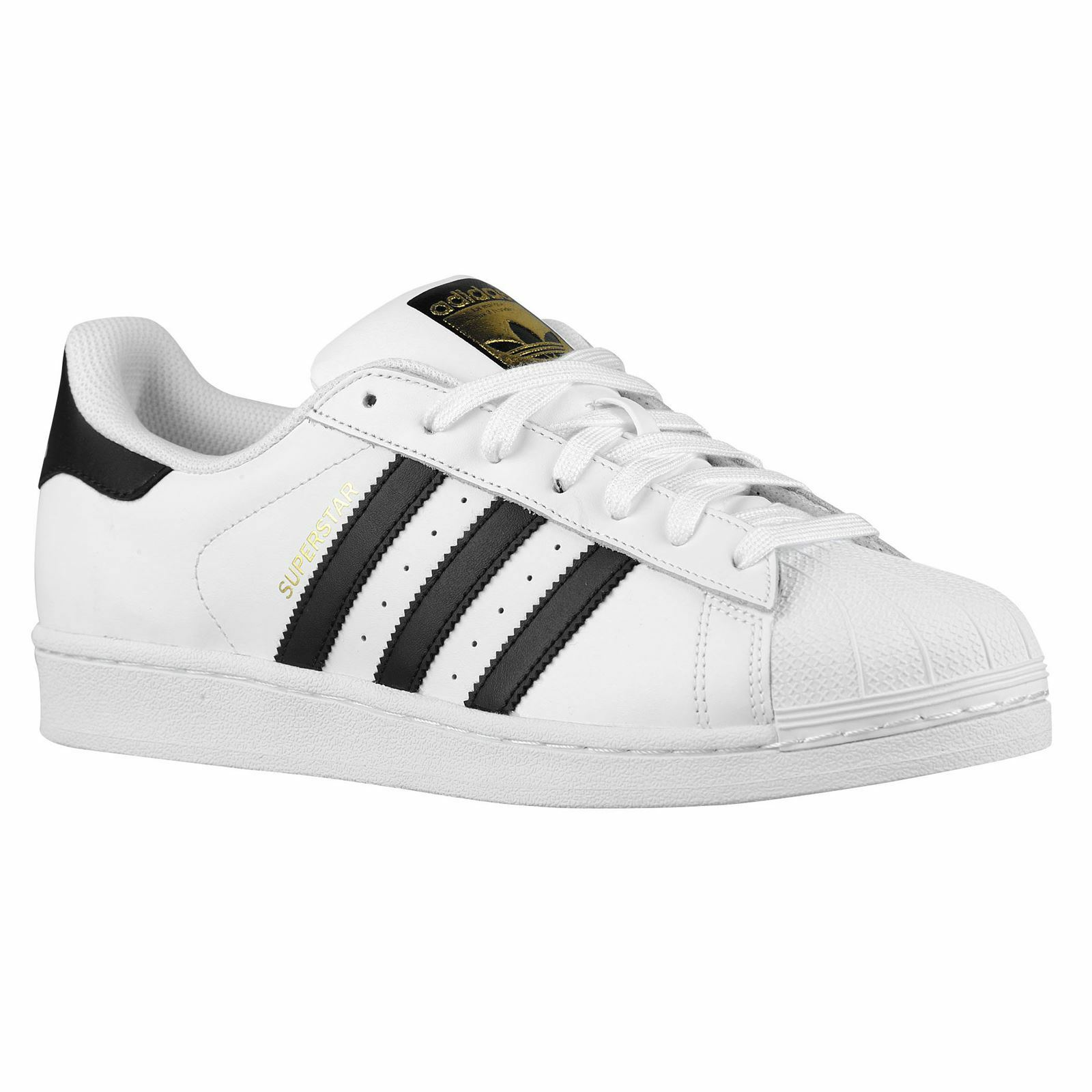 Adidas Superstar White Black Mens Trainers Sneakers Sneakers Sneakers 996d86