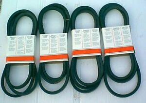 DMD-Matched-Set-of-4-Drive-Belts-fit-MF22-Morra-Fort-Disc-mowers-zz