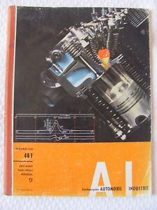 Automobil-Vogel-Verlag-Wurzburg-Gasturbine-NSU-Kraftfahrtechnik-2-4-Takt-1958