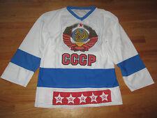 Rare VLADISLAV TRETIAK No. 20 CCCP (LG) Russian Hockey Jersey