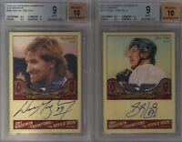 2011 UD Upper Deck Goodwin Wayne Gretzky Sidney Crosby Auto Autograph Group B/C