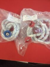 1 x WASHING MACHINE FILL INLET HOSE COLD AND HOT HOSE 0571200124 0571200125