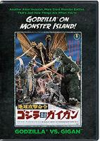 Godzilla Vs. Gigan: Godzilla On Monster Island Dvd - Authentic Us Release