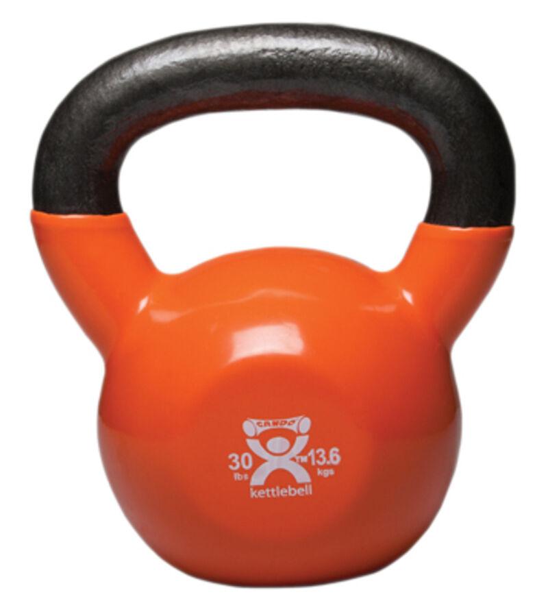 Cap Barbell Kettlebell 30 LB Pounds Workout Muscle Balance Training Fitness Gear