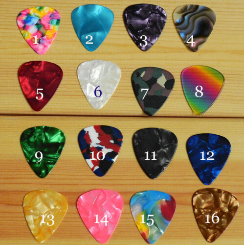 Great gift for music lovers Guitar Pick Keychain with Electric Guitar Charm