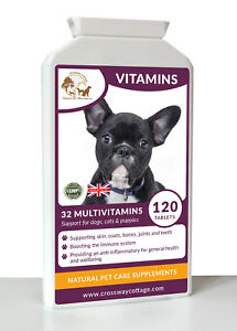 32-Multi-Vitamin-amp-Minerals-for-Dogs-amp-Cats-120-Tablets-Improved-Formula