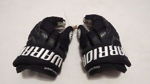 Sean-Couturier-Used-Warrior-QR1-Pro-Stock-Flyers-14-034-Hockey-Gloves-MeiGray