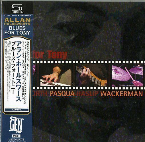 ALLAN HOLDSWORTH-BLUES FOR TONY-JAPAN 2 MINI LP SHM-CD Ltd/Ed H40