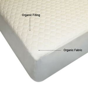 image is loading non gmo 100 organic cotton mattress pad topper - Organic Cotton Mattress