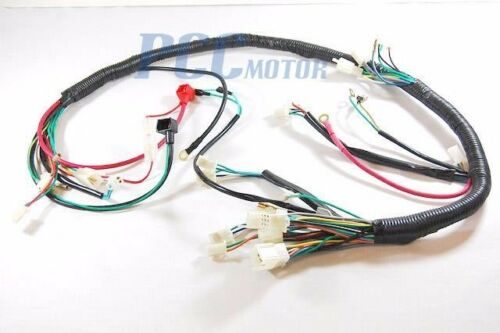 WIRE HARNESS CHINESE ATV QUAD MOPED SCOOTER P WH09S