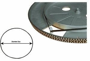 Turntable-Drive-Rubber-Belt-0-5mm-Thick-by-5mm-wide-size-195mm-diameter