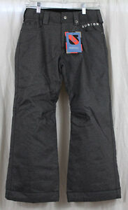 931d5b49f8c6 New 2014 Burton Youth Boys Denim Insulated Snowboard Pants Medium ...