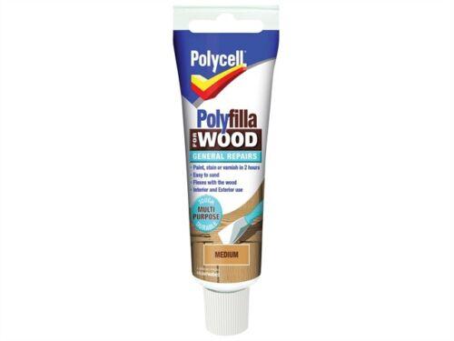 Fillers Polyfilla For Wood General Repairs Tube Medium 75g PLCWGRM75