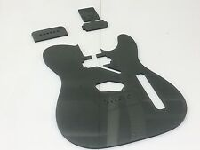 Acrylic Telecaster Body Template With Neck Humbucker Micawber