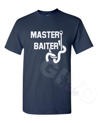 Master Baiter Fishing Shirt Funny Slogan Performance Present Gift For Fisherman