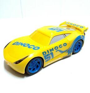 Disney-Pixar-Cars-3-hablando-Dinoco-Cruz-Ramirez-20cm-coche-luces-y-los-efectos-de-sonidos