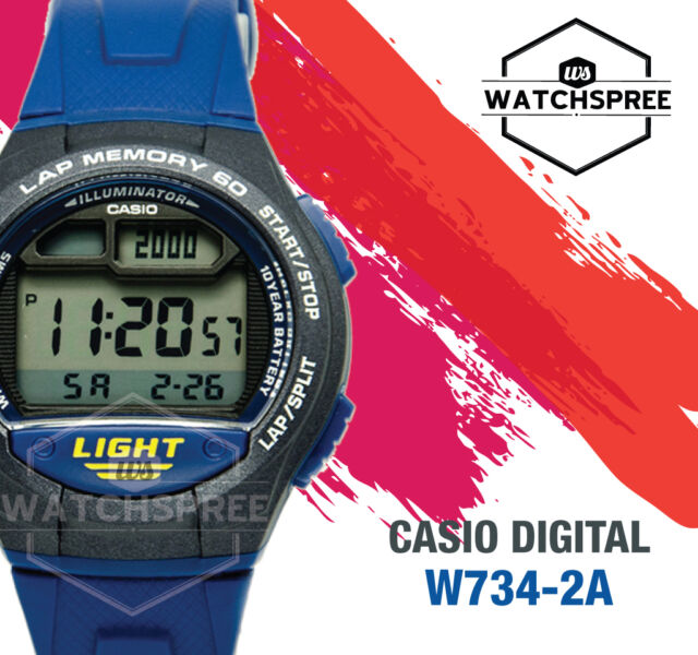 Casio Standard Digital Watch W734-2A
