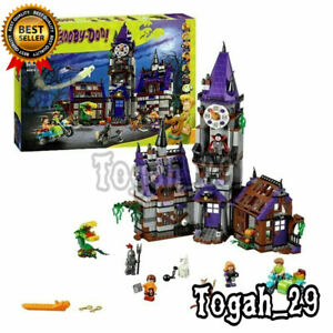 Compatible-Scooby-Doo-Mystery-Machine-Mansion-Set-75904-Building-Bricks-Pack