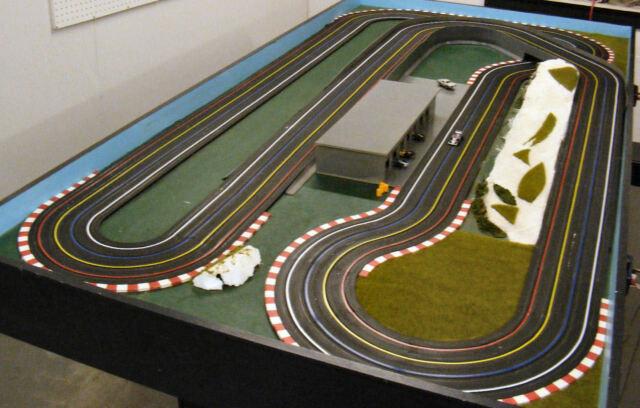 Slot race track set