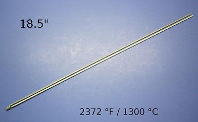 K type haute température Thermocouple Capteur Pour Céramique Four Four 2372 ℉ 1300 ℃