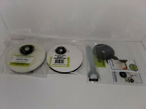 GAMECUBE-PLASTIC-PLATE-amp-SANDING-PAD-amp-BUFFING-PAD-FOR-THE-JFJ-EASYPRO-PLUS