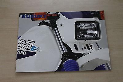 169050) Suzuki Dr 125 Prospekt 199? Modische Und Attraktive Pakete