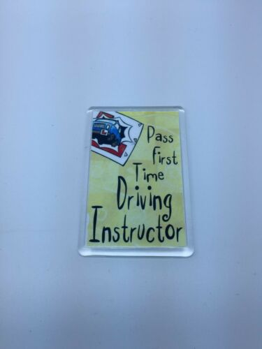 Xmas Gift Present Idea Driving Instructor Fridge Magnet