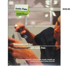 Details about JUSTIN PATE DVD #3 VEHICLE CAR GRAPHIC VINYL WRAP  INSTALLATION WRAPPING GUIDE