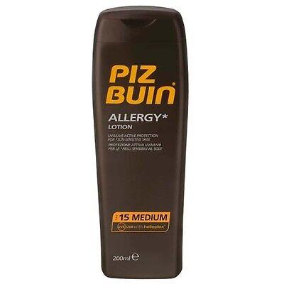 Piz Buin Allergy Sun Tan Lotion SPF 15 200ml