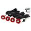 Universal-4x-16mm-Flat-sensores-de-aparcamiento-de-insercion-en-Coche-Alarma-De-Reversa-Respaldo miniatura 3